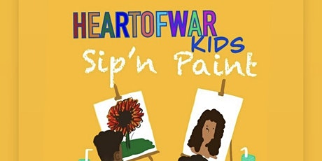 HeartofWar Kidz Sip & Create Workshops tickets