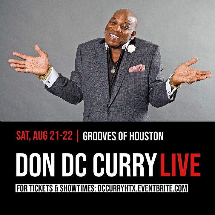 Houston Tx - Don DC Curry LIVE @ Grooves of Houston image