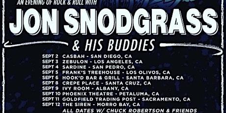 Jon Snodgrass & His Buddies + Chuck Robertson and Friends tickets