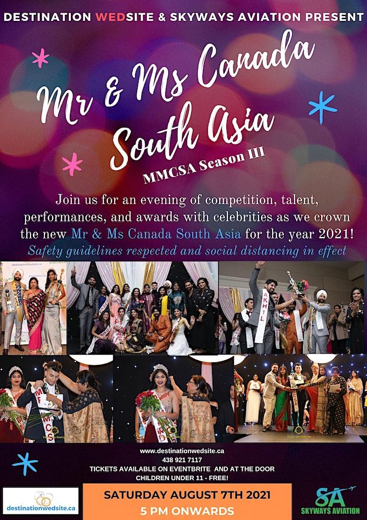 Mr & Ms Canada South Asia Season III image