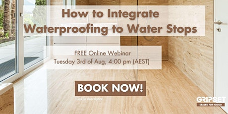 How to Integrate Waterproofing to Water Stops tickets