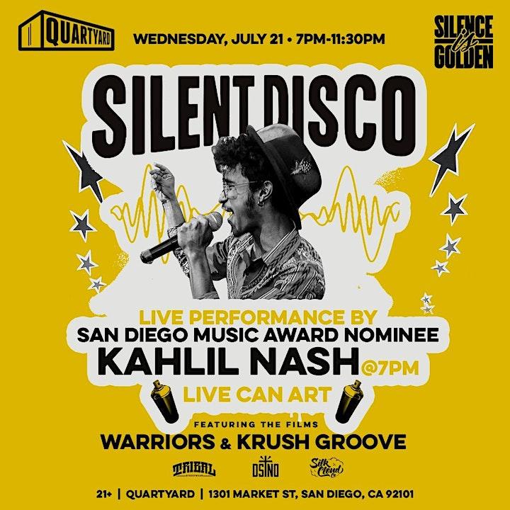 Silence Is Golden: Hip Hop vs. Motown Silent Disco Party image