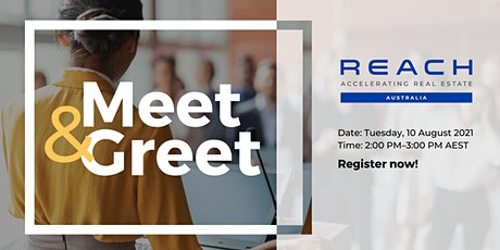 REACH Australia & Southeast Asia Meet and Greet #1 with Shelli Trung tickets