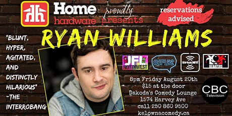 Home Hardware proudly presents Ryan Williams tickets