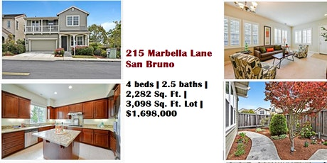 Open House: 215 Marbella Lane, San Bruno, California 94066 tickets