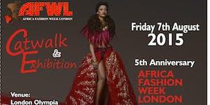 AFRICA FASHION WEEK LONDON 7th & 8th August 2015 -...