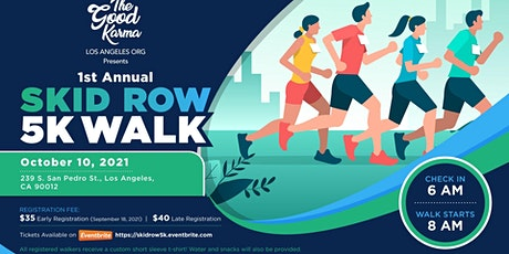 SKID ROW 5K WALK tickets
