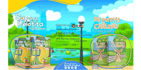 Book Presentations for I Am A Little Ball and My Doggy Chikenu tickets