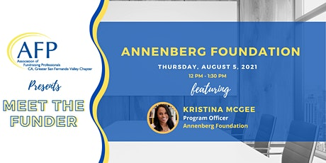 Meet the Funder: Annenberg Alchemy with Kristina McGee tickets