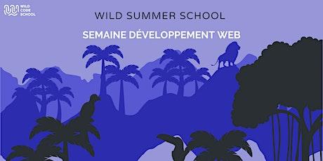 Wild Summer School - Pixel Art avec Javascript ! billets