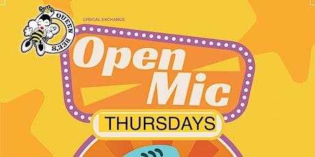 Lyrical Exchange Open Mic tickets
