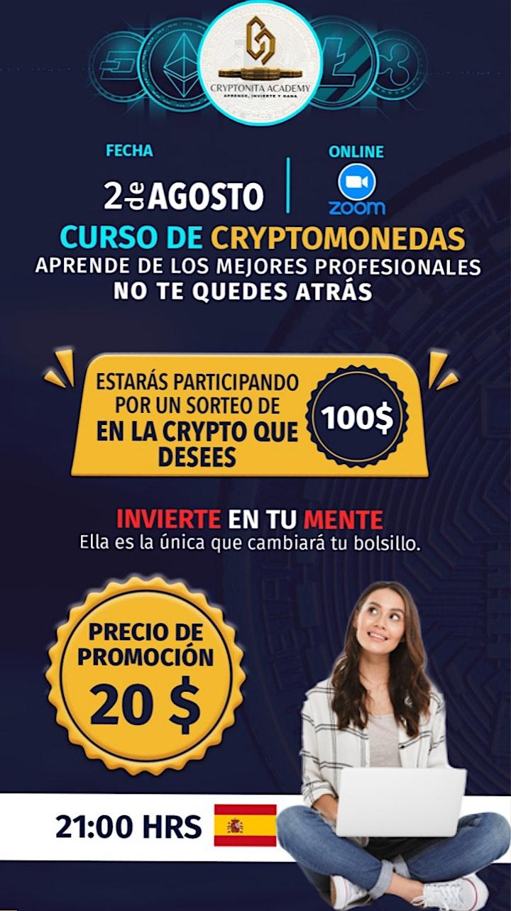 Imagen de Curso básico de cryptos y trading