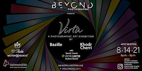 VIRTU - a photographic art exhibition by Bazille & Khodr Cherri tickets