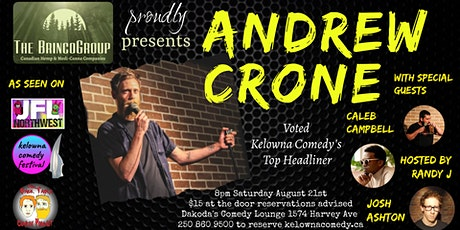 The Brinco Group presents Andrew Crone tickets