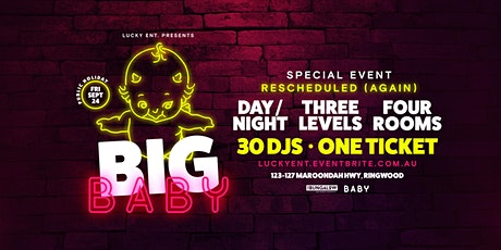 Big Baby || Special Event (Grand Final Eve) tickets