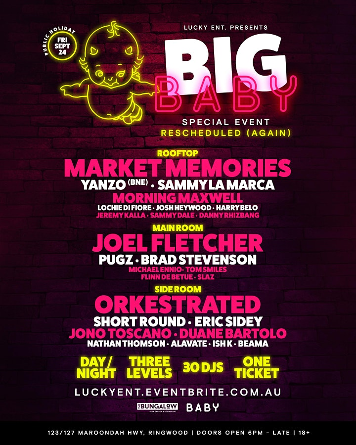 Big Baby || Special Event (Grand Final Eve) image