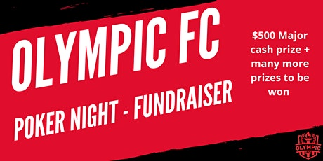 Olympic FC Poker Fundraising event tickets
