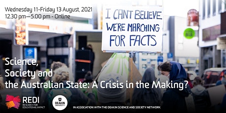 Science, Society and the Australian State: A Crisis in the Making? tickets