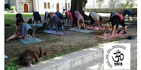 Yoga al parco in Villa Antonia biglietti