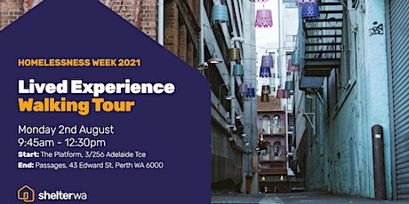 Lived Experience Walking Tour tickets