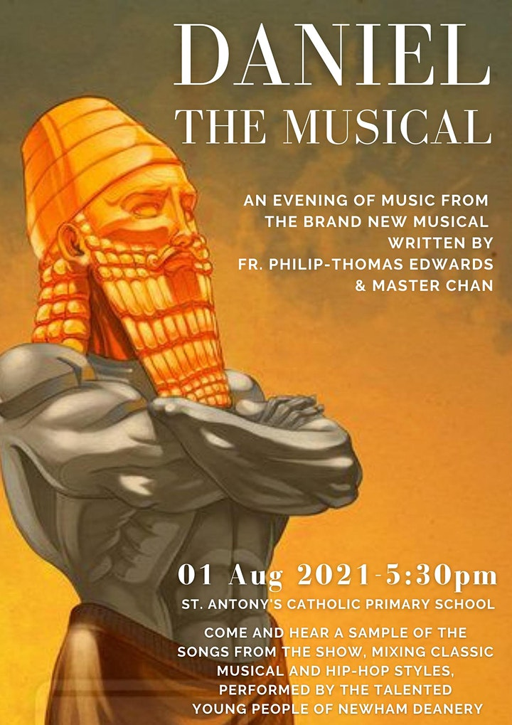 Daniel the Musical - an Evening of Songs image