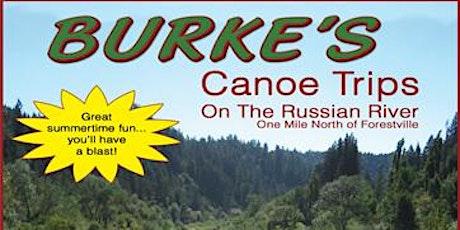 ♥Russian River Canoe Trip♥ tickets