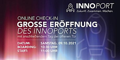 Grosse Eröffnung des INNOPORTS Tickets