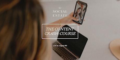 The Content Crash Course tickets