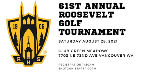 61st Annual Roosevelt Golf Tournament tickets