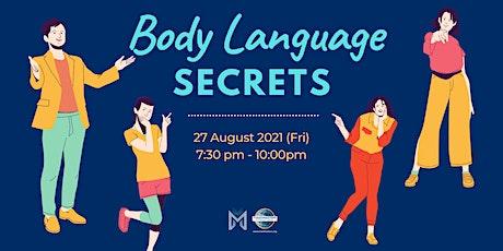 Online Public Speaking Extravaganza: Body Language Secrets tickets