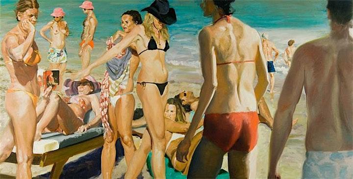 Image pour Eric Fischl, l'été et la plage: une collage