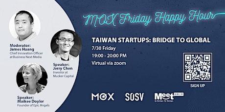Taiwan Startups: Bridge to Global tickets