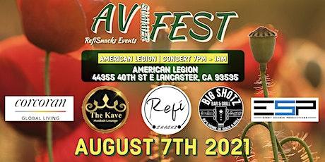 AV Summer Fest 2021 tickets