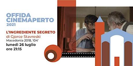 L'INGREDIENTE SEGRETO - 26 luglio - ore 21.15- Piazzale S.Maria della Rocca biglietti