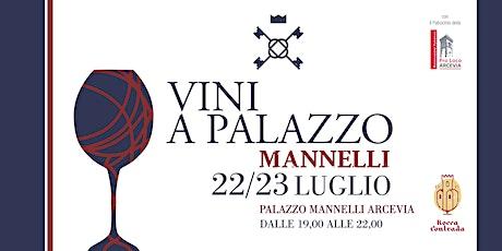 Vini a Palazzo Mannelli biglietti