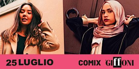 Firma Comix con Dayoung Clementi e Tasnim Ali biglietti