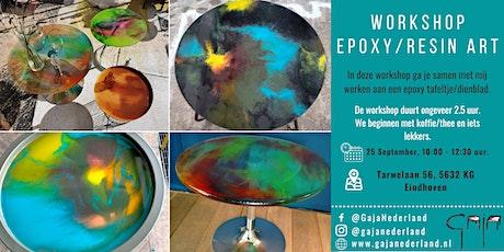 Workshop epoxy/resin art (ochtend) tickets