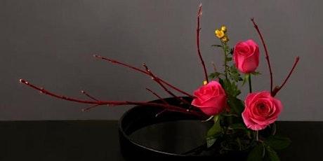 The art of Ikebana by Rieko - Ikebana Inclining Basics (小原流 Ohara School) tickets