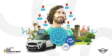 P.E with Joe on Tour powered  by The MINI Countryman: Goodwood tickets
