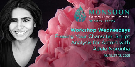Workshop - Script Analysis for Actors with Adele Noronha tickets
