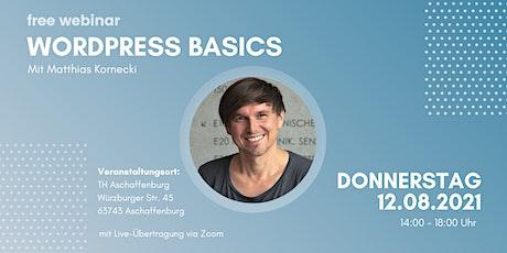 WordPress Basics tickets