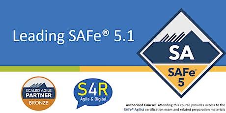 Leading SAFe 5.1 - Certified SAFe Agilist ingressos