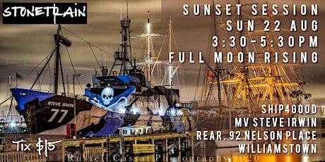 Sunday Sunset Sesh with rock-driven blues band Stonetrain - Ship4Good tickets