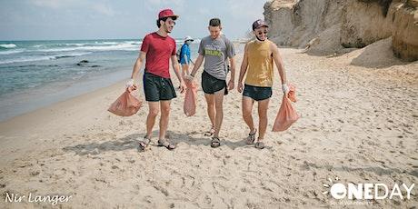 Beach cleaning - ניקוי חופים tickets