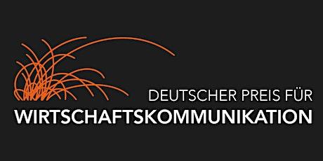 Deutscher Preis für Wirtschaftskommunikation (DPWK) Tickets