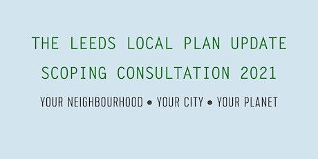 LPU  Scoping Consultation - Green Infrastructure Webinar-Evening tickets