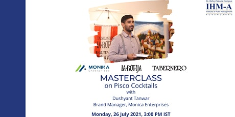 Masterclass on Pisco Cocktails tickets