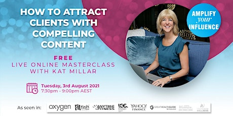 How To Attract Clients With Compelling Content tickets