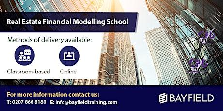 Bayfield Training - Real Estate Financial Modelling School tickets
