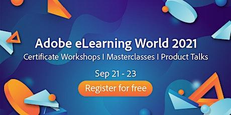 Adobe eLearning World 2021 bilhetes